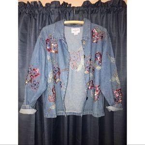 Jackets & Blazers - Ronnie Salloway Jean Jacket